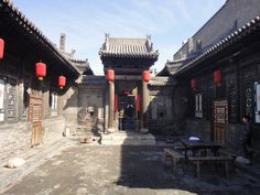 Our hotel in the ancient walled city of Pingyao, in Shanxi.