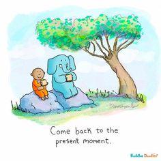 Tiny Buddha, Little Buddha, Buddah Doodles, Action For Happiness, Quiet Quotes, Jesus Is Life, Kawaii Illustration, Zindagi Quotes, Zen Doodle