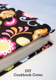 Easily revamp any cookbook with this simple mod podge tutorial.