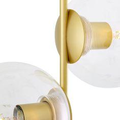 Madison Glass Ball Floor Lamp | Mullan Lighting