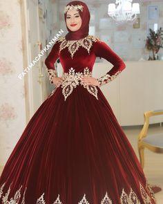 Hijabi Wedding, Modest Wedding Dresses, Bridal Dresses, Formal Dresses, Hijab Fashion, Fashion Outfits, Hijab Style Dress, Afghan Clothes, Babe