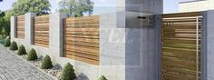 Image result for residential perimeter wall designs