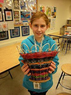 6th grade basket weaving