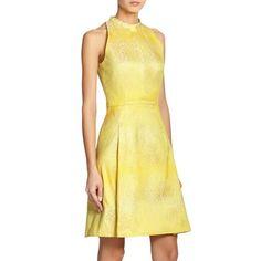 Akris Jacquard A-Line Dress