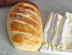 Homemade bakery french bread in minutes. This super simple and easy french bread recipe will be a hit in your home. It only takes a little more than an hour to have hot, fresh bread straight out of the oven. Forget the bakery when you can make it at home! Easy French Bread Recipe, French Bread Loaf, Homemade French Bread, Easy Bread Recipes, Cooking Recipes, Easy Homemade Bread, Homemade Ranch, French Recipes, Fast Recipes