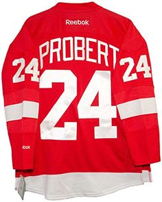 e69e6852fb5 Bob Probert Detroit Red Wings Home Red Jersey – Detroit Sports Outlet