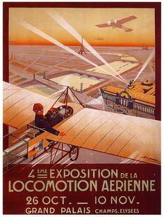 4ieme Expo de la Locomotion Aerienne Georges Dorival, 1910