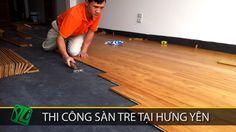Clip thi công sàn gỗ tre Ali tại Hưng Yên