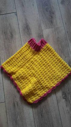 Child poncho - Crochet - Tutorial - English