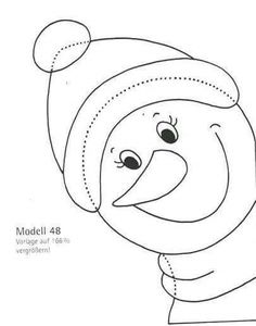 Basteln Basteln - New Ideas Christmas Door, Christmas Mugs, Christmas Crafts For Kids, Holiday Crafts, Christmas Ornaments, Homemade Crafts, Diy And Crafts, Paper Crafts, Snowman Coloring Pages