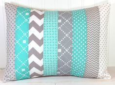 Decorative Pillow Cover  Throw Cushion Cover  by theredpistachio, $22.50