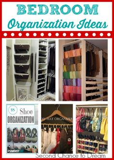 Second Chance to Dream: Bedroom Organization ideas