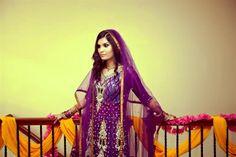 Naureen & Ghazaly's Super Colorful Mayoon & Mehndi Ceremonies