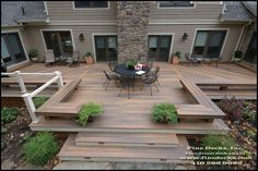 This Horizon Composite Deck in Ipe makes it into our 2012 Product Guide. From Fine Decks in Owings MD.