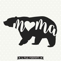 Get creative with this trendy Nana Bear SVG file, perfect for personal DIY craft projects or handmade business product lines. SVG, DXF, EPS, PNG and JPG files.