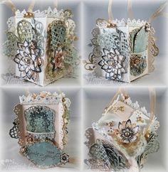 Heartfelt Creations | Fleur Gift Box With Ribbon