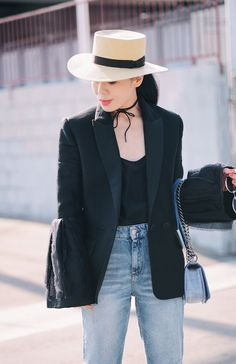 Browse petite outfit inspiration from bloggers with street style we love | 'Hallie Daily'