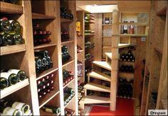 J'adore le bois. On peut facilement réaliser son aménagement de cave soi même. On ne s'embêtera plus jamais pour le rangement du vin. http://www.edifit.fr #AmenagementCave #RangementVin