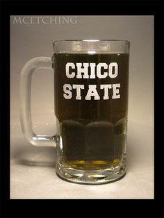 20oz Chico State Beer Mug