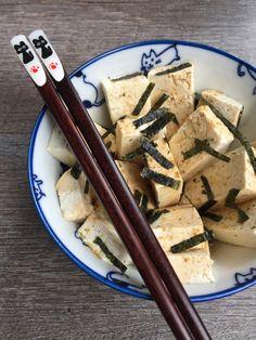5 ingredient hiyayakko! (cold tofu)  #veganketo