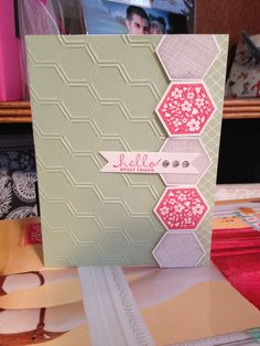 Stampin' Up! Sweet friend.