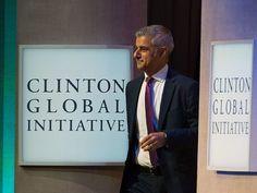 Khan of Londonistan Speaks At Clinton Global Initiative Meeting