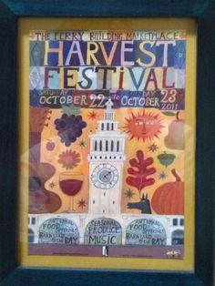 Harvest Festival poster promo:  cute ideas!