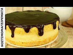 Το διάσημο Κέικ Βοστώνης η Τούρτα κωκ που σίγουρα θα γίνει το αγαπημένο σας - YouTube Tiramisu, Cake Recipes, Cheesecake, Good Food, Food And Drink, Sweets, Candy, Baking, Amazing Recipes