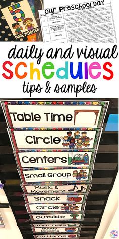 child care daily routine template.html