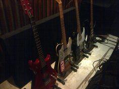Westone - Fender Telecaster Deluxe - Fender Telecaster Japan - Ibanez RG-550
