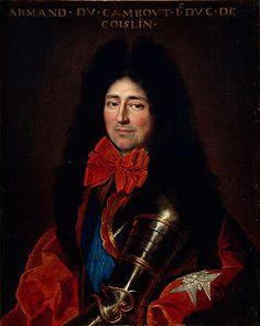 Armand de Cambout, duc de Coisllin (1635-1702), mid 17th century, French school (Nantes)
