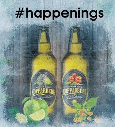 Kopparberg unveils #happenings competition but keeps prize a secret