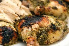 Zesty Cilantro Lime Roasted Chicken (gluten-free & grain-free)