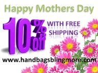 http://www.handbagsblingmore.com/ Save 10% on 1 of every 1 Qualifying items you purchase offered by Handbags, Bling & More!. Claim Code Enter code MOMS2015 at checkout.