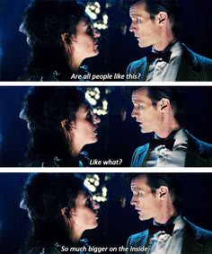 This is the best line in almost any TV series ever but you really only understand the enormity and profundity of it if you are familiar with the whole show's mythology Doctor Who Quotes, Through Time And Space, Don't Blink, Eleventh Doctor, Tumblr, Torchwood, Geronimo, Dr Who, Hearts