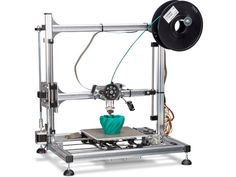 The Printer or rapid prototyping system is a computer assisted manufacturing process where software guides the creation of three dimensional models. Big 3d Printer, Laser Printer, 3d Printing News, Do It Yourself Kit, Multifunction Printer, Software, Model Maker, 3d Printer Supplies, Box