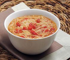 Una sopa tradicional del estado de Campeche, una receta casera muy sabrosa y nutritiva, el epazote le da un sabor muy especial.