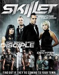 Skillet, Disciple, Decyfer Down
