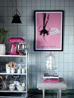 Pink Kitchen Aid...   love,love,love!