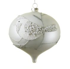 Bird Ornament :) I think I can make this.