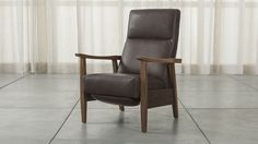The ULTIMATE Christmas gift for guys - a leather reclining chair