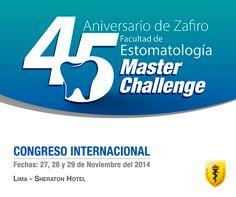 #Herediano, ¡no te pierdas el mejor congreso de Estomatología! 27, 28 y 29 de Noviembre.