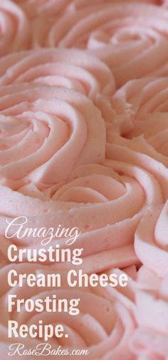 Gigante torta de la magdalena + Crusting queso crema crema de mantequilla Receta {ideal para decorar}