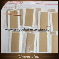 The best quality hair replacement tape for tape in extensions, can last long time, easy to take off, large quantity in stock, can ship at once, welcome to visit our website  www.uniquehairextension.com or email us  sales@uniquehairextension.com or add our whatsapp: +8613553058361  to get your wholesale price, thank you.