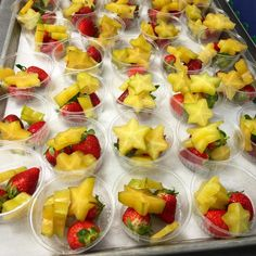"""#RealSchoolFood FRUIT during #NSBW and taste test in Polk School Nutrition in FL. """"Our first 'What's That? Wednesday' was a success! Students loved the star fruit. Next week's featured food is kale!""""  More at www.facebook.com/SchoolMealsThatRock"""