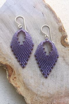 Love these beaded Russian Leaves - easy tutorial!