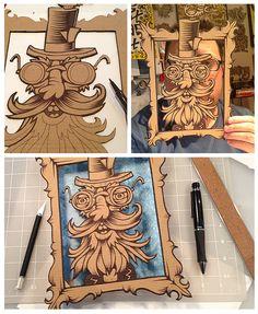 Lord Sillyton :: Drawsigner: An illustrative design blog showcasing the creative work of Von Glitschka