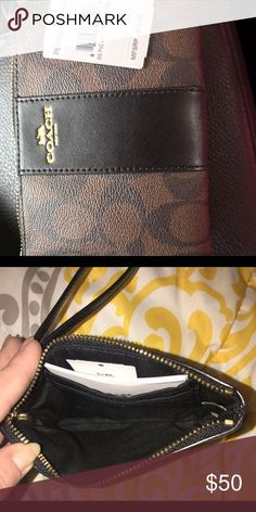 952dbe187895 Coach wristlet Brand new with tags never used coach wristlet Coach Bags  Wallets