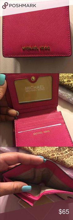 Raspberry pink MK wallet Raspberry pink wallet , KORS Michael Kors Bags Wallets