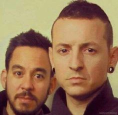 Chester❤ and Mike 😶 lol huh?